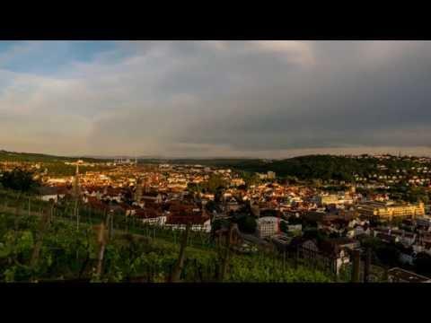 """Zeitraffer Shorties: """"Esslingen Stadt"""" Weinberge 01 [HD]"""