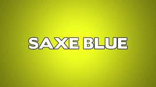 Saxe Blue Meaning