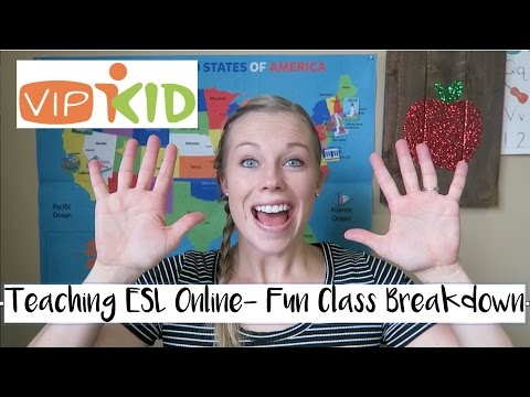 Teaching ESL Online- Fun Class Breakdown (VIPKID)