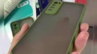 Softcase Case Matte Dove Candy Casing Case Bumper Samsung M51 S10 Lite Note 10 Lite S21 S21 Plus S21 Ultra A12 A02S A02 Kesing Mika Pelindung Hp