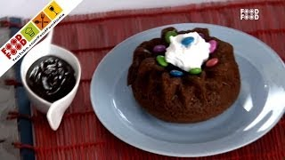 Flowery Chocolate Cake - Mummy Ka Magic