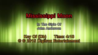 John Anderson - Mississippi Moon (Backing Track)