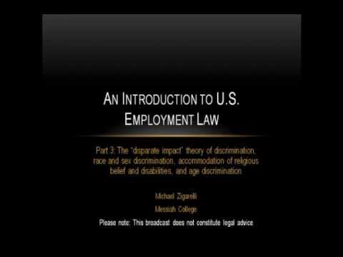 An Introduction to US Employment Law (part 3)
