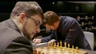 Magnus Carlsen vs  MVL at London Chess Classic Game 1 || Chess 2019