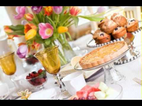 Easter lunch menu decor ideas youtube for Easy easter lunch menu