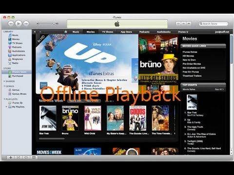 How to Watch iTunes Movies without Internet Connection