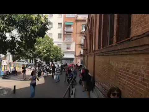 Rodaje serie MERCADO CENTRAL de TVE