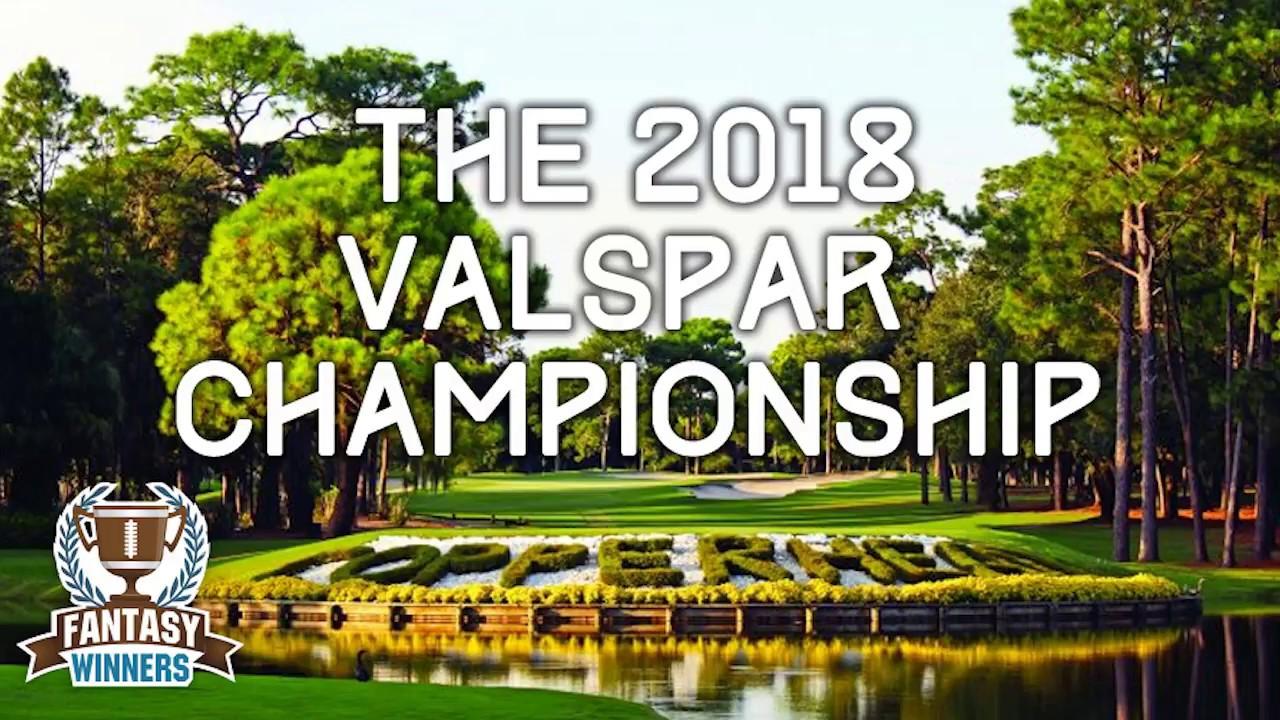 PGA - 2018 Valspar Championship | Daily Fantasy Golf ...