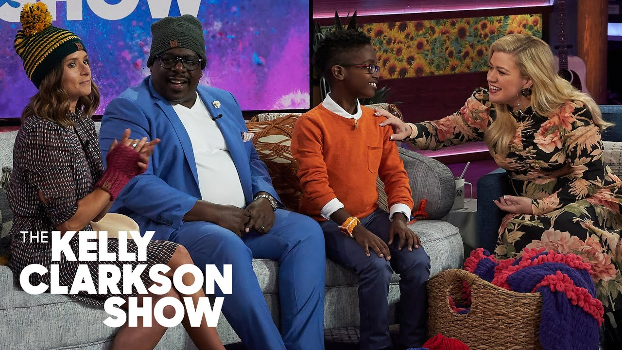 11-Year-Old Teaches Cedric The Entertainer, Danica Patrick And Kelly Clarkson How To Crochet