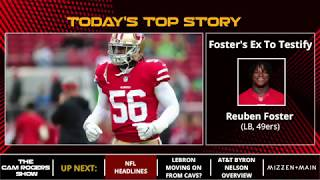NFL News: Reuben Foster Case, Dez Bryant Update And Aaron Donald Contract Extension