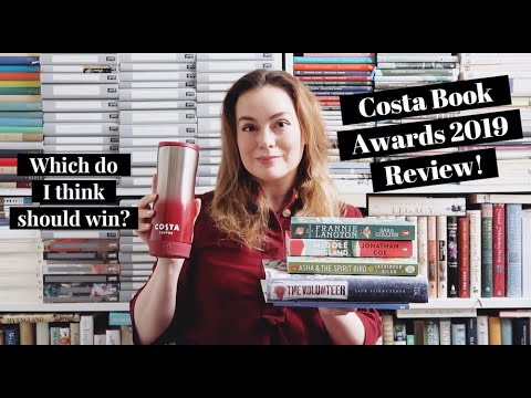 My Review Of The Costa Book Award Winners (AD)