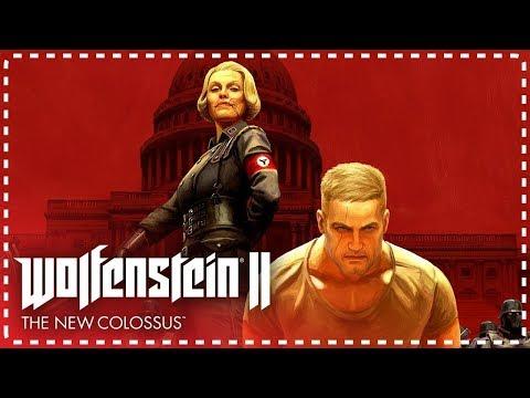 SADECE BANA Bİ SİLAH VER   Wolfenstein II The New Colossus