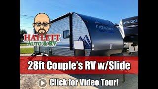 NEW MODEL! 2020 Catalina 231MKS 28ft Rear Living Half Ton Travel Access Coachmen Couple's Trailer