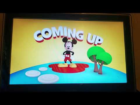 Disney Junior Mickey Mouse Clubhouse Coming Up Bumper 2015