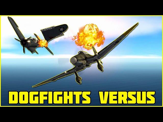 DOGFIGHTS VERSUS - SBD Dauntless VS Ju 87 Stuka - Ep 9 FINALE