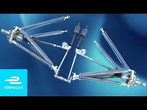 How Does Formula E's Push-Rod Suspension Work?