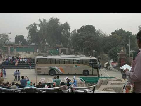 Bus Across the India/Pakistan Border