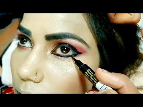 Real bridal  Makeup  tutorial for beginners step by step easy and simple method