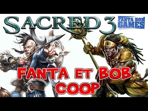 Fanta et Bob dans Sacred 3 - Gameplay Coop