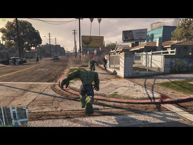 GTA 5 - Hulk-Mod bringt Marvel-Feeling nach Los Santos