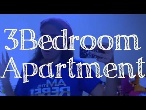 Disney College Program Vlog #23   Vista Way 3 Bedroom Apartment Tour