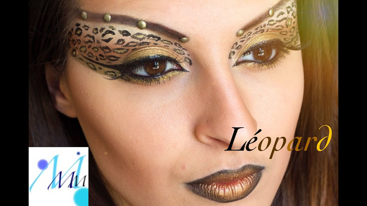 Fabuleux Maquillage artistique : Maquillage Léopard - YouTube YN33