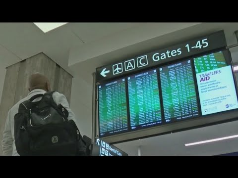 Winter weather grounds flights in Tampa
