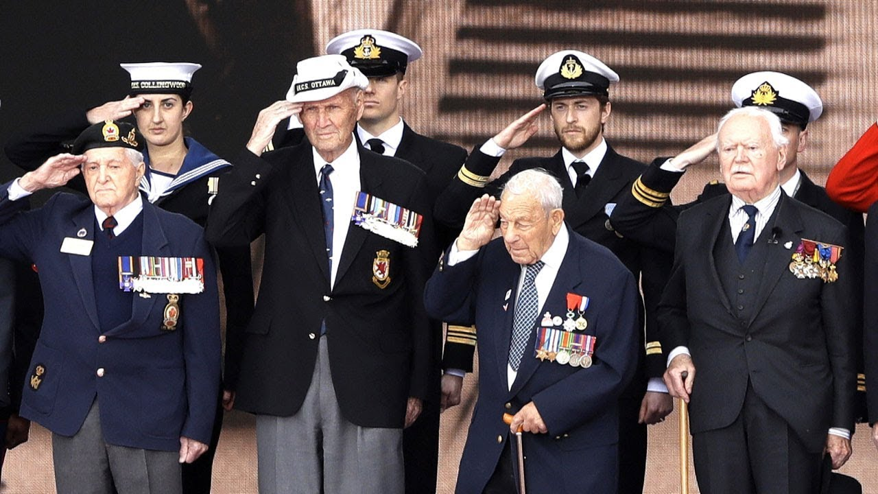 1f579499532a D-Day: 75th anniversary ceremony highlights. CBC News