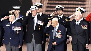 D-Day: 75th anniversary ceremony highlights