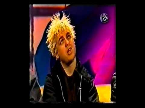 Green Day 2TV Irish Interview 1998