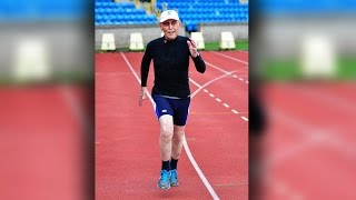 96 year old athlete smashes sprinting records