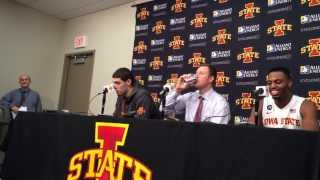 Iowa State forward Melvin Ejim scores a career-high 48 points