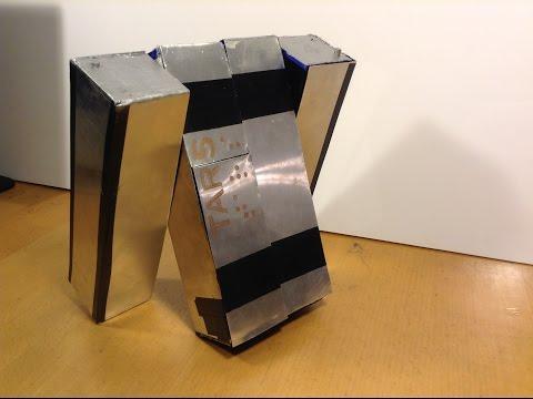 TARS from Interstellar: A Walking Robot Invention (Award-Winning Engineering Project)