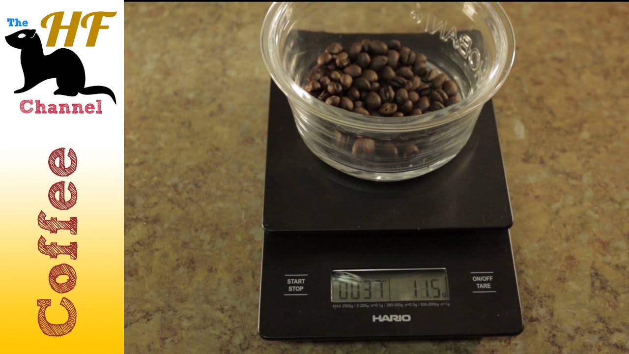 Hario Coffee Drip Scale Timer Review Youtube Vst 2000b