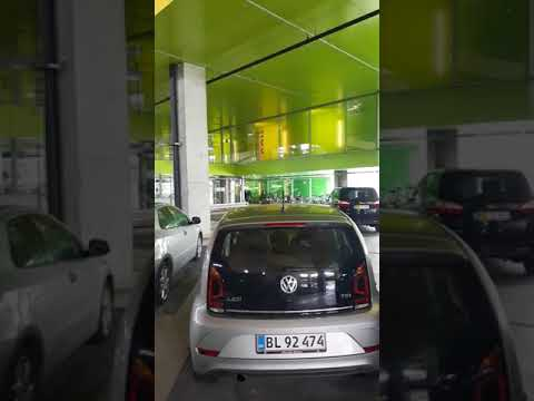Copenhagen BIG V W VW parking garage colors living architecture Bjarke Ingels