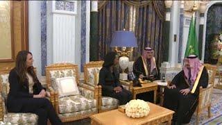 ماذا تفعل وزيرة الخارجية الأمريكية السابقة كونداليزا رايس في السعودية؟