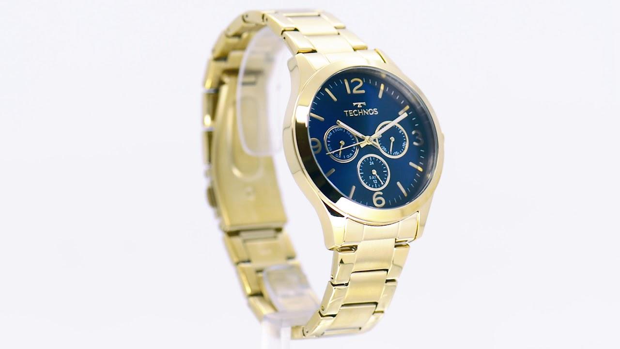 590f71ead59 Relógio Technos Feminino Elegance 6P29AJH 4A - Eclock - YouTube