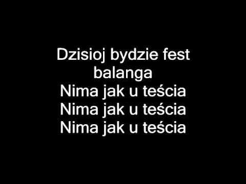 Zespół Fest - Nima jak u teścia (karaoke).wmv