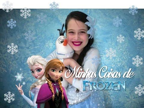 ☃ Minhas Coisas de Frozen #juliasilva - English Suble