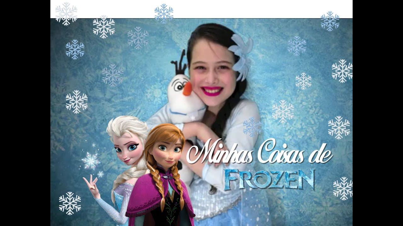 Minhas Coisas de Frozen Julia Silva - English Subtitle - YouTube a0d8e49520