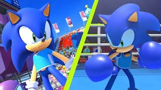 All Event Sonic Gameplay - Mario & Sonic at Tokyo 2020 Olympic Games | JinnaGaming
