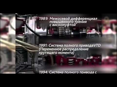 Технологии Субару: симметричный полный привод