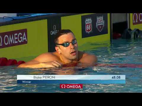 Men's 100m Free A Final | 2018 Phillips 66 National Championships