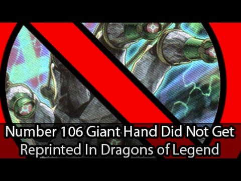 Number 106: Giant Hand Didn't Get Reprinted In Dragons of Legend