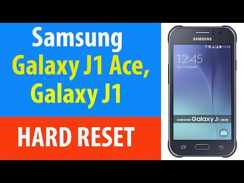 How To Hard Reset Samsung Galaxy J1 And Galaxy J1 Ace.