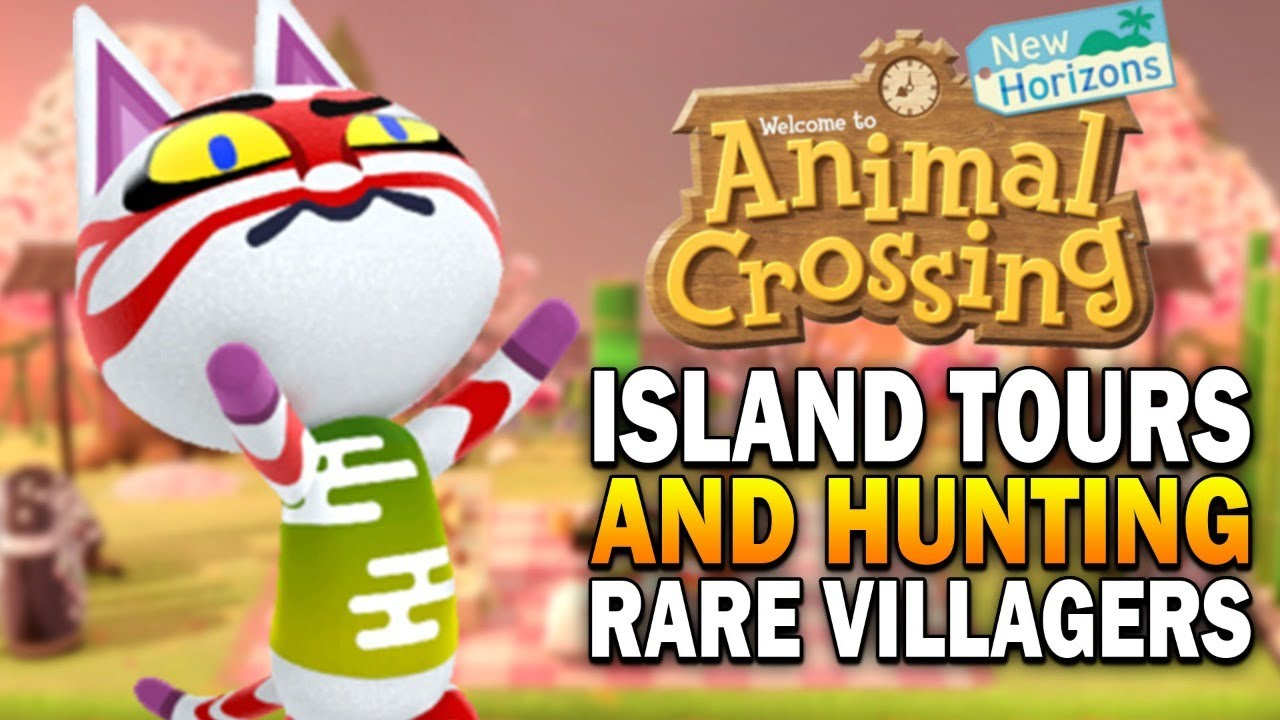 Member Island Tours Hunting Rare Villagers Animal Crossing New