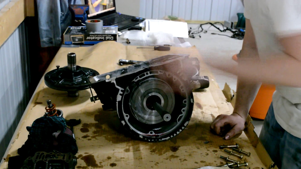 Powerglide Disassembly Youtube