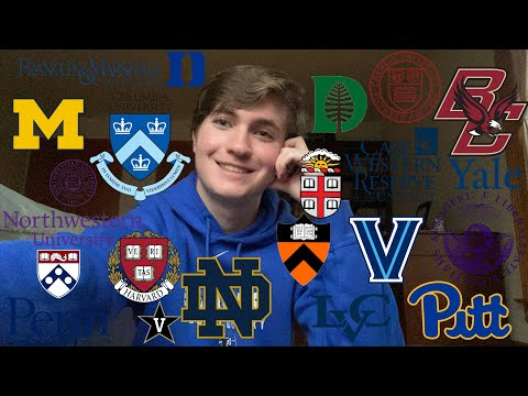 I GOT INTO MY TOP CHOICE IVY | College Decision Reaction 2020!
