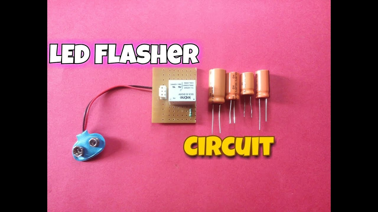 Simple Capacitor Led Circuit Robotmill