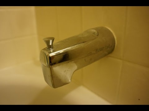 Replace Leaking Shower Spout under 3 minutes - 11/20/2015 - YouTube